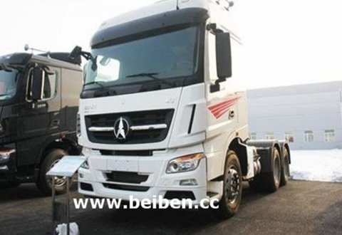 China Trucks Beiben 6X4 RHD 420hp Tractor Head