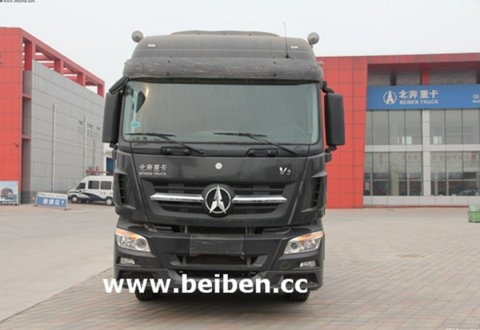 China Trucks Beiben 6X4 420hp Tractor Head