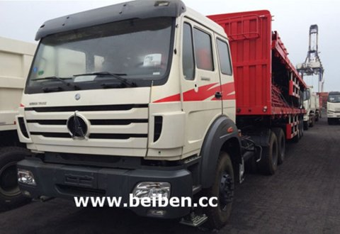 New BeiBen NG80 6x4 Tractor Truck 40 tons Trailer Head
