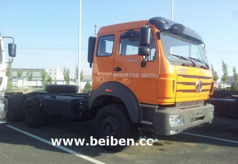 BeiBen NG80 RHD 6x4 380hp Tractor Truck for Sale