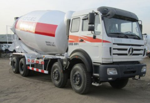 NORTH BENZ 8X4 CONCRETE MIXER Truck