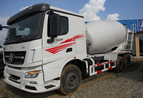 NORTH BENZ 6 X4 CONCRETE MIXER Truck