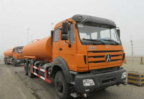 North Benz NG80B 6x4 18000 liters Water Tank Truck