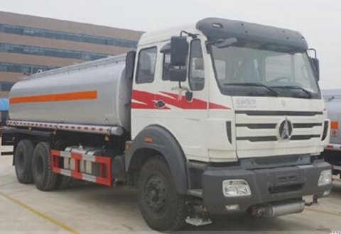 Beiben 6X4 18CBM Fuel Tank Truck with 3 compartments
